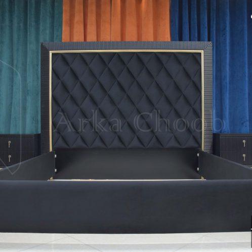 سرویس خواب مدرن به رنگ نسکافه ای ، جذابیت خیره کننده رنگ و سَبک | کد 171