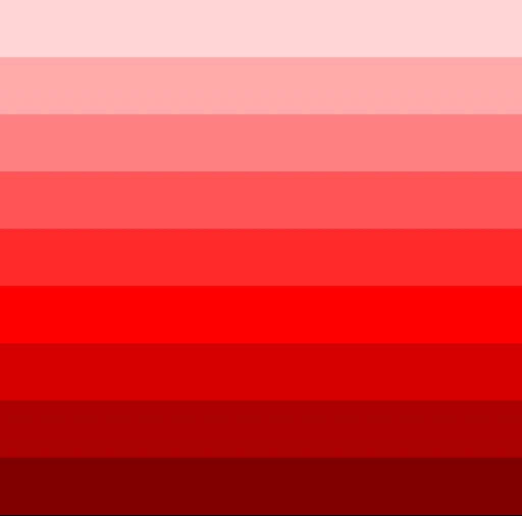 طیف رنگی قرمز سرویس خواب
