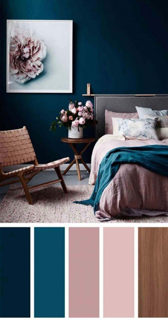 طیف رنگی آبی سرویس خواب